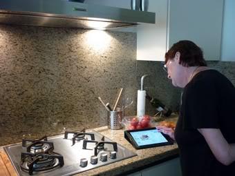 koken in voorbereiding