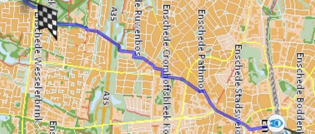 Enschede route