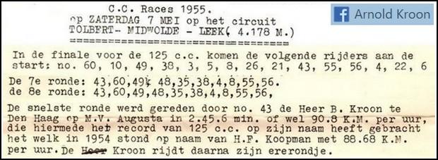 Wegraces Tolbert 1955