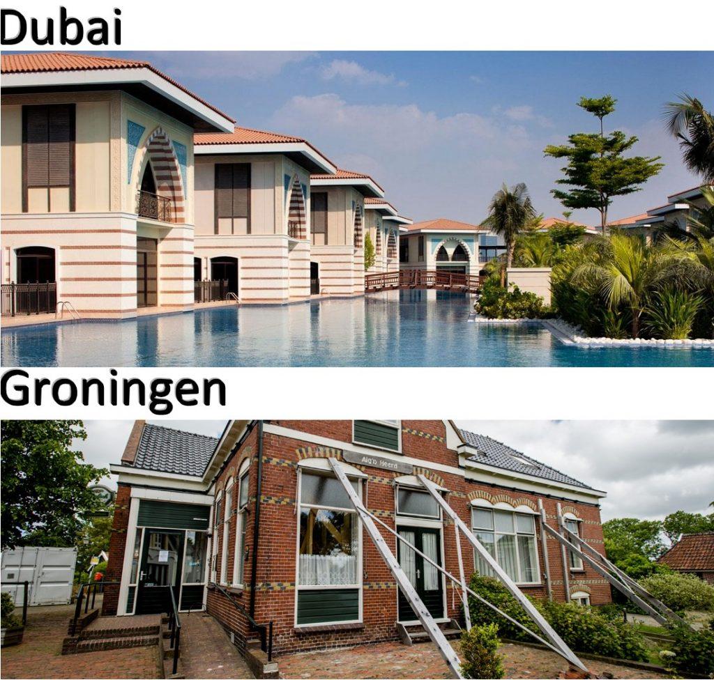 Dubai en Groningen