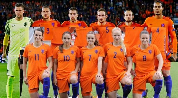 Nederlands Elftal mixt